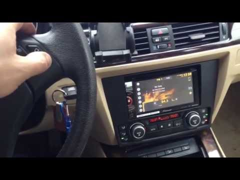 Bmw 3 series 2008 with Pioneer double din radio