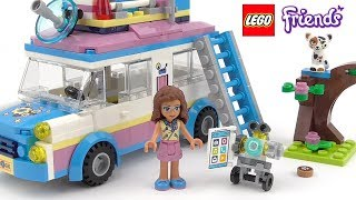 LEGO Friends Olivia's Mission Vehicle - Playset 41333 Toy Unboxing & Speed Build