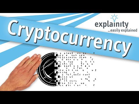 Cryptocurrency easily explained (explainity® explainer video)