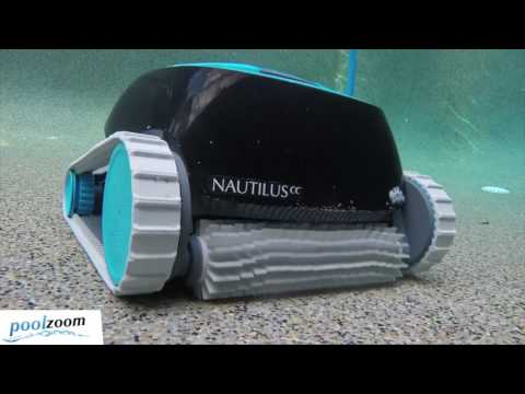 Dolphin Nautilus CC CleverClean Robotic Pool Cleaner - PoolZoom