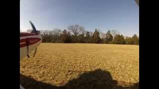 SuperCub PA-18-95 off Airport Landing  onTuma Farm in Tennessee! Pilot Shelby Hunton