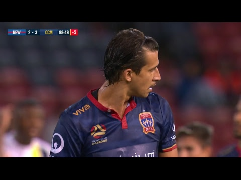 A-League 2018/19: Round 22 - Newcastle Jets v Central Coast Mariners (Full Game)