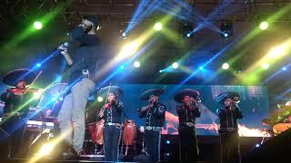 El sonido del silencio con Mariachi, Alex Campos en concierto Tlaxcala