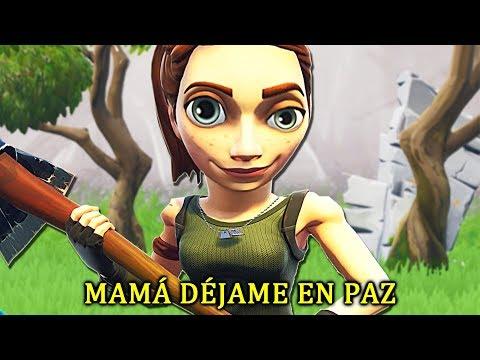 MAMÁ DÉJAME EN PAZ