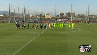 Trainingslager in Valencia - Testspiel gegen Wehen Wiesbaden | FC St. Pauli TV