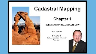 Ch 1 Cadastral Mapping - Real Estate Law 2015