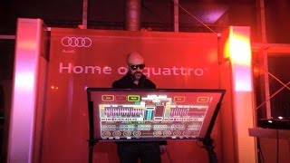 Vlog Spécial évènement Audi invite Eric Powa B