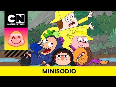 DÍA LLUVIOSO | Clarence | CN  Minisodio | Cartoon Network