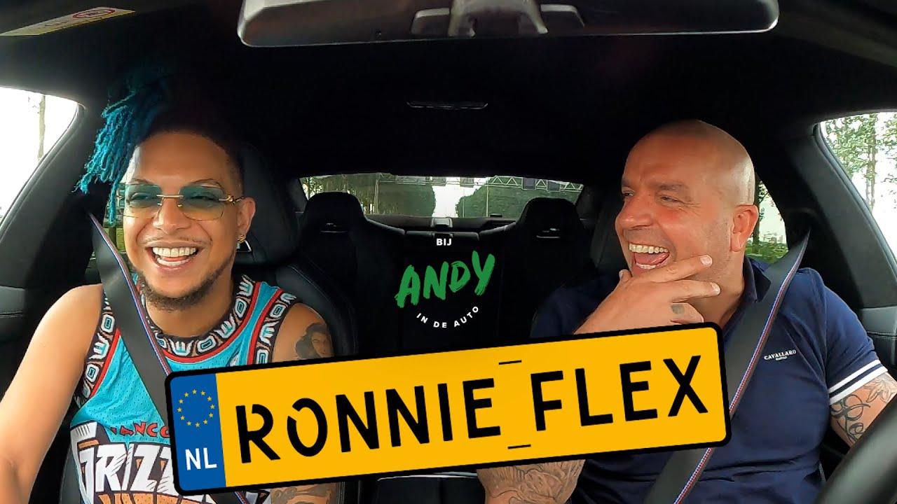 Ronnie Flex – Bij Andy in de auto!