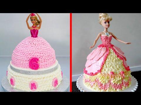 5+ Creative PRINCESS Wedding Dress CAKE Decorating Ideas 👑 Compilation! Barbie Doll Cake #11
