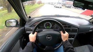 2011 Daewoo Nexia City Car Driving