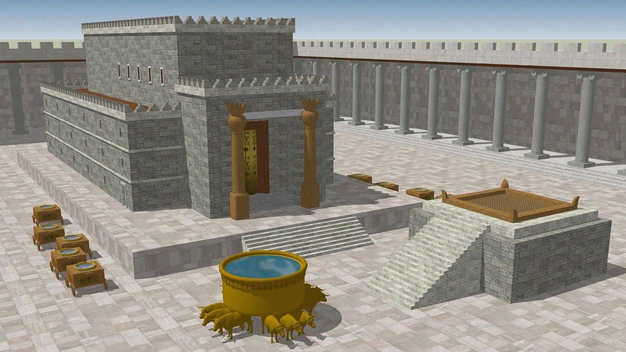 King Solomons Temple Drawings
