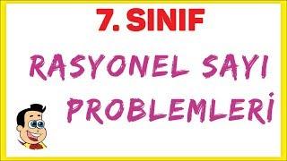 7. Sınıf Rasyonel Sayı Problemleri Şenol Hoca Matematik
