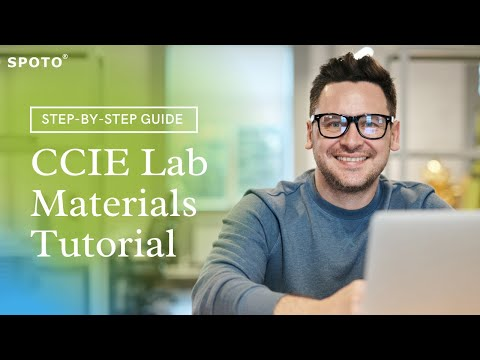 SPOTO-How to use CCIE Lab Materials(2) - YouTube