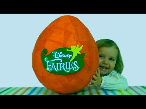 Видео, Феи Дисней огромное яйцо  обзор игрушек