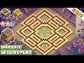 Gambar cover BEST! NEW Anti 2 Star Town Hall 8 Th8 Clan-War Base 2017 With Replay Proof Vs Anti Dragon