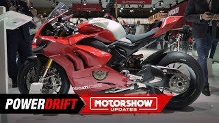 Download Video 2019 Ducati Panigale V4 R : The most powerful NA motorcycle : EICMA 2018 : PowerDrift MP3 3GP MP4