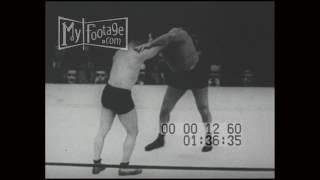 """1928 Ed """"Strangler"""" Lewis and Gus Sonnenberg Wrestling Championship"""