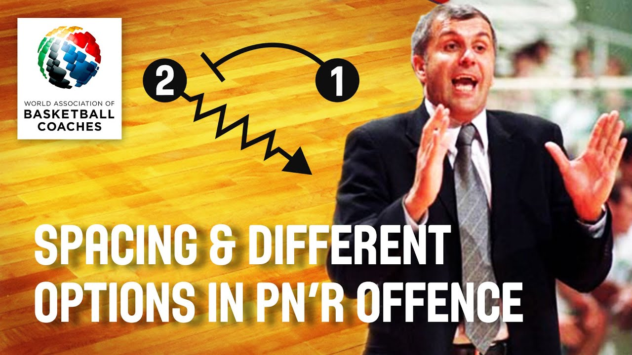 Zeljko Obradovic - Spacing and Different Options in Pn'R Offence