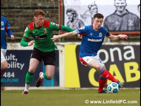 Glentoran Linfield Goals And Highlights