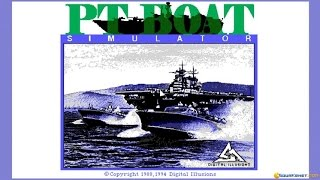 PT Boat Simulator (1994) gameplay (PC Game, 1994)
