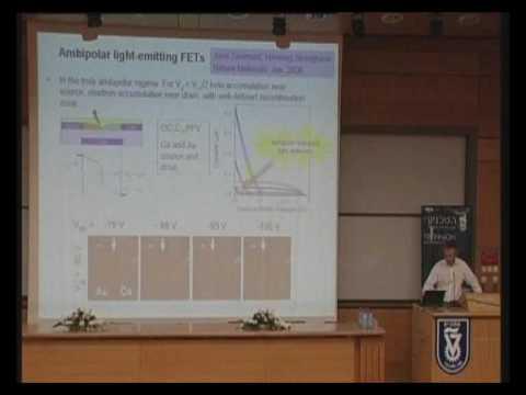 Prof. Sir Richard Friend - Plastic Electronics