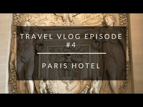 Travel Vlog Episode #4: Traveling Alone To Paris + The Cutest Hotel Ever