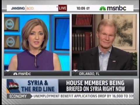 Nelson discusses Syria, furloughs and the Boston bombing with MSNBC