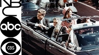 JFK ASSASSINATION BREAKING NEWS REPORTS- NBC, ABC, CBS - 50 YEARS LATER