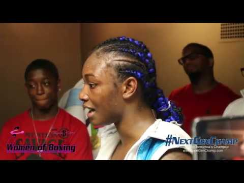 WBC Silver Super Middleweight Champ Claressa Shields Post-Fight Interview