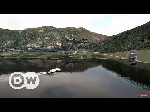 Norveç'te kıyıları birleştiren tünel projesi - DW Türkçe