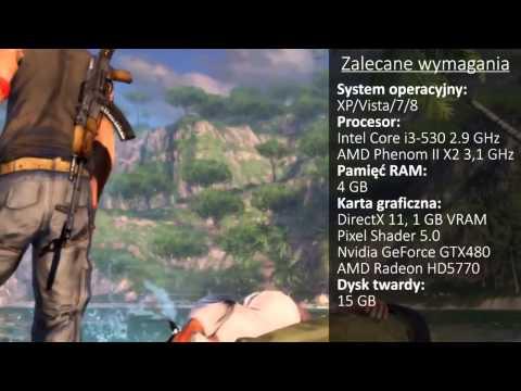 Far Cry 3 - wymagania sprzętowe - zobacz więcej na cdp.pl