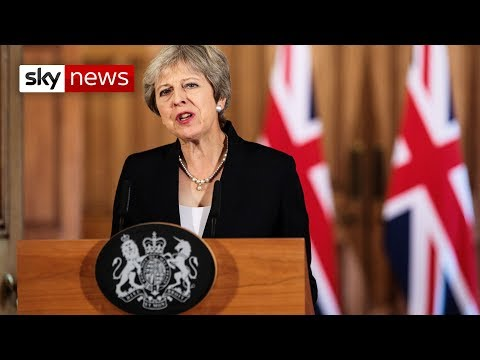 Theresa May delivers Brexit statement following EU criticism