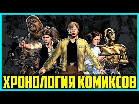 В каком порядке читать комиксы Звёздные Войны Marvel | Хронология каноничных комиксов Star Wars