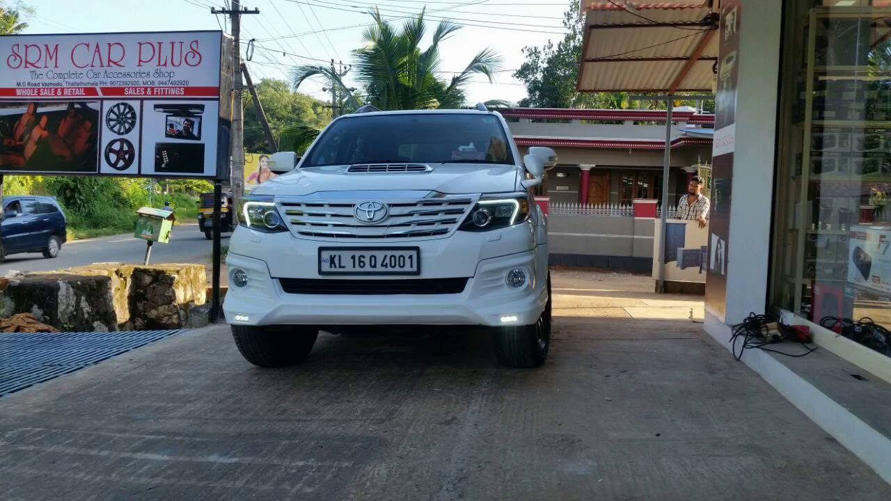 Toyota Fortuner Trd Body Kit And Accessories Srm Car Plus Attingal Kilimanoor Youtube