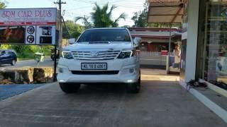 Toyota Fortuner TRD Body Kit and Accessories | SRM CAR PLUS | Attingal | Kilimanoor