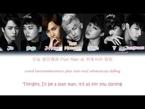 BTS (Bangtan Boys (방탄소년단) - 24/7 = Heaven (Color Coded Han|Rom|Eng Lyrics)