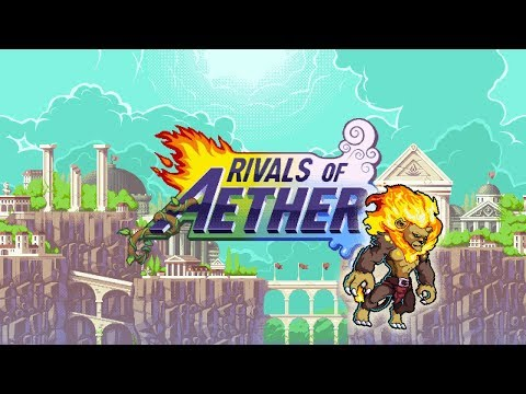 Rivals of Aether - Zetterburn - Taunt & Slam Finish
