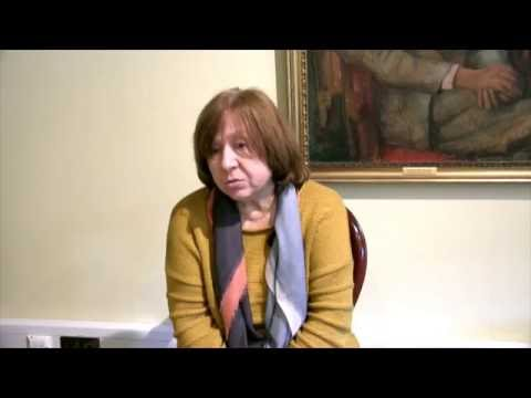 Svetlana Alexievich on 'the Red Man' and freedom of speech