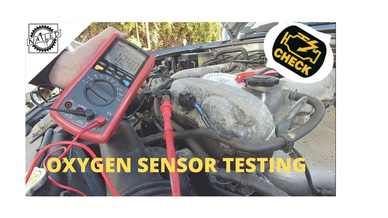 How To Test A 4 Wire O2 Sensor With A Multi-meter And Cheap Obd2 Scan Tool