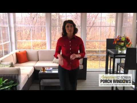 Amazing EZ-Screen Porch Windows - Introduction