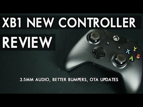 NEW Xbox One Wireless Controller Review / 3.5mm Port, Better Bumpers, OTA Updates