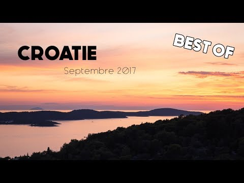 Voyage en Croatie : BEST OF - Video HD - Travel - Croatia