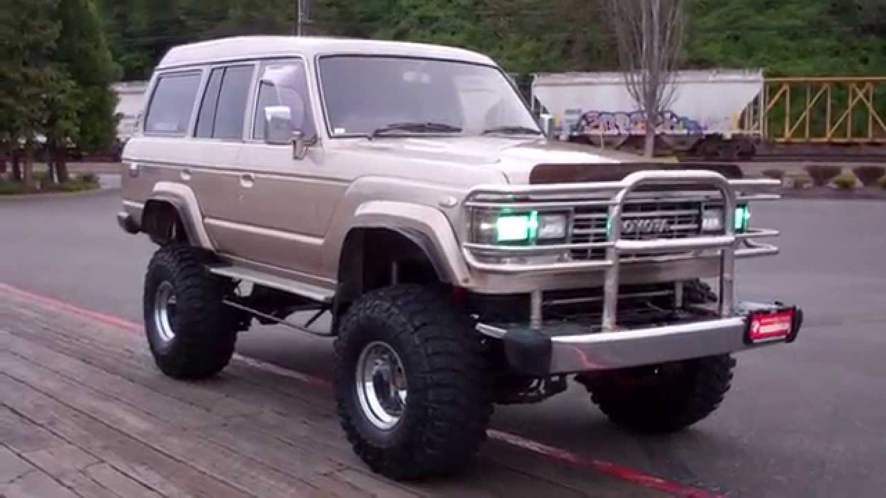 1987 Toyota Land Cruiser Hj61v Jdm Rhd Youtube Lift Kit