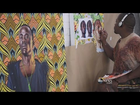 Kehinde Wiley Reimagines Classic Art | ABC News