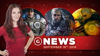 Witcher 3 Not On PS4 Pro & Gears 4 Gets Split-Screen Co-Op! - GS Daily News