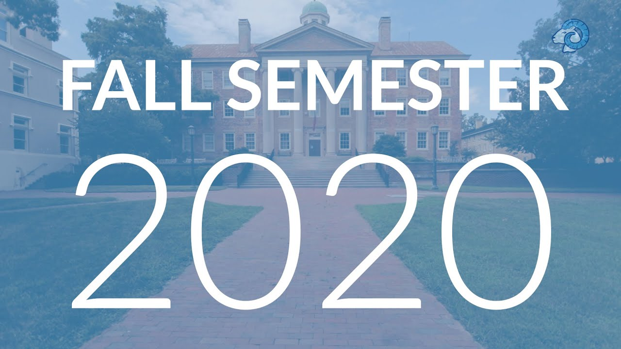What to expect on Carolina's campus for Fall 2020
