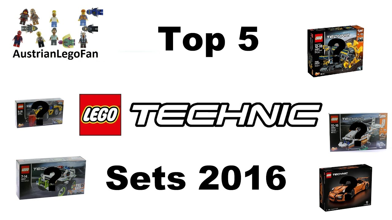 top 5 lego technic sets