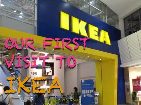 Whats In IKEA Rhodes Shopping Center Sydney Australia