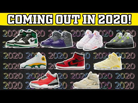 UPCOMING JORDAN SHOES RELEASE IN 2020